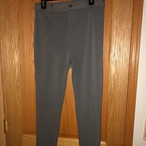 Forever 21 grey stretched pants